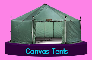 Canvas army tents Houghton