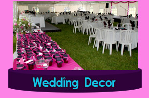 Catering Equipment Wedding Decor