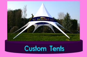 Tent from canvas Haiti