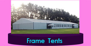 frame tents for export