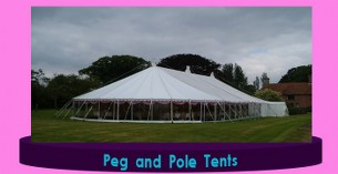 peg and pole tents for export