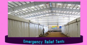 Layoun Disaster Relief Tents for sale