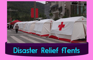 New-Delhi Relief Tents