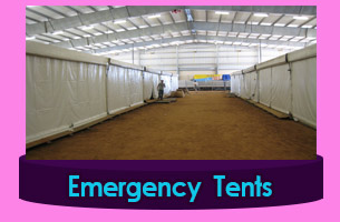 New-Delhi Emergency Tents