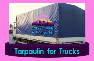 Chile Rescue tents and Homes 911 Tarp Tarpaulin Marquees